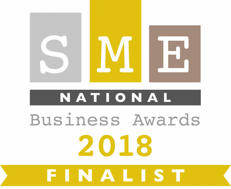 SME National Business Awards - 2018 Finalist