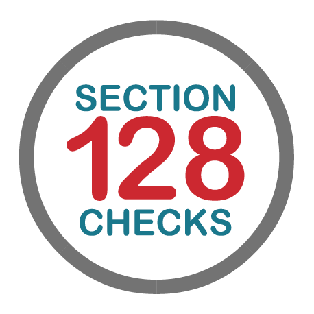Section 128 Checks