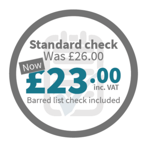 Standard Check - Was £26.00, now £23.00 inc VAT